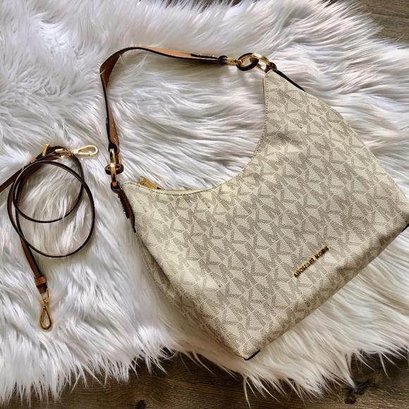 Michael Kors Handbags - Michael Kors Isabella Signature Logo Handbag